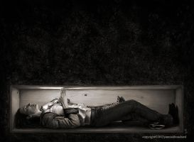 The lonely grave of Paula Schultz by YannickBouchard