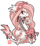 #241 Floral Bagbean - Weeping cherry tree by griffsnuff