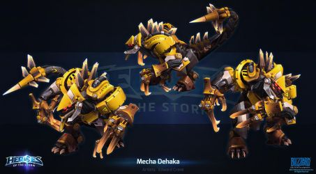 Mecha Dehaka by Azetlor