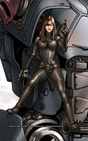 Baroness detail by Mecha-Zone