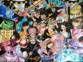 One Piece Colored by VA2O