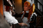 Asuka maid. Alternative home IX by TaisiaFlyagina