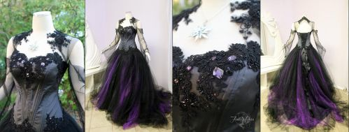 Halloween Wedding Dress by Firefly-Path