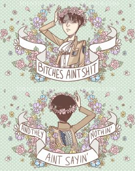 Sassy Levi Mini Pouch Design by IdentityPolution