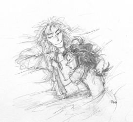 GND outtake: Snuggles by Pika-la-Cynique