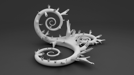 A Handy Little Sculpture by AnthonyRalano