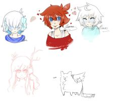 Doodles yes by Ryis