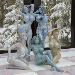 Statuesque III by Stevie3D