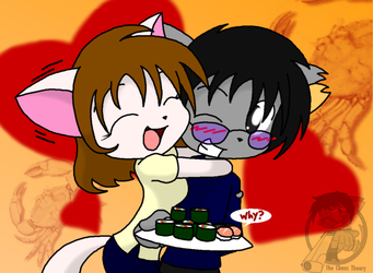 crab sushi for V-day by Sandwich-Anomaly