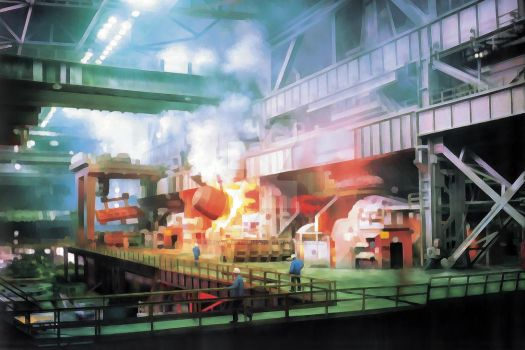 Steel Manufactory by StratosStormgod