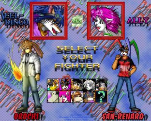 Select Your Fighter by ryuumajin