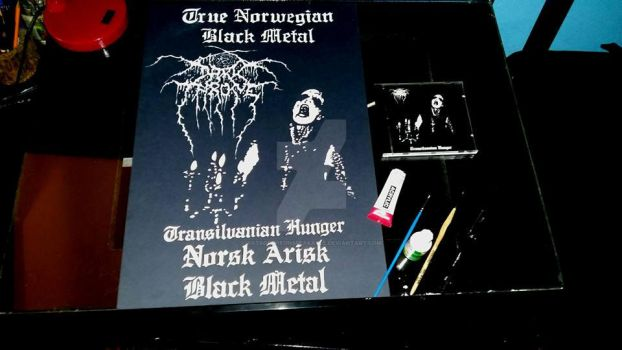 Darkthrone ''Transilvanian hunger'' by ArtsOfTheUnspeakable