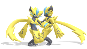 Zeraora MMD Model Download (V.1.0) by Pikadude31451