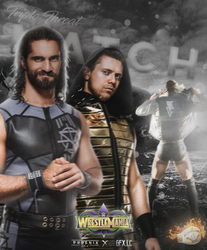| Triple Threat Match for The IC Title ~ WM34 | by phoenixgfx1