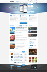 Clicknow - Webdesign by King--Sora
