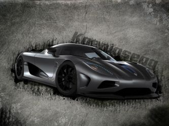 Koenigsegg Wallpaper by BashGfX