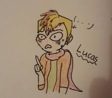 Lucas  by KitKatKatness