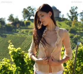 Alexa in the vine-yards 4 vip by Val-Mont