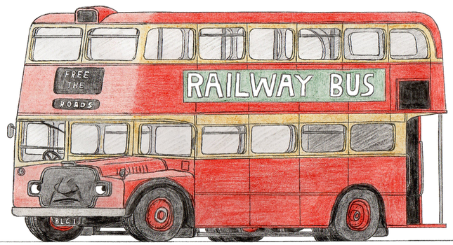 Bulgy the Double-Decker Bus by 01Salty