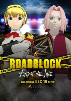 WWA Roadblock: End Of The Line 2016 Poster by vayne90