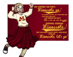 Go Gopher Victory! by Alexander-Rowe