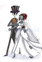 Jake and Sally's wedding by Wickabee