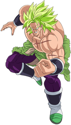 Broly (Legendary Super Saiyan) by hirus4drawing
