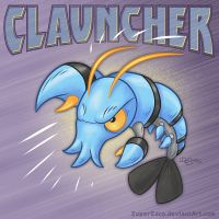 Pokemon: Clauncher by SuperEdco
