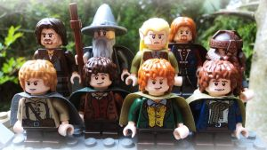 LEGO - The Fellowship of The Ring by BewitchedCat