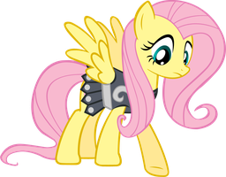 Armored Fluttershy by Scotch208