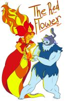 A Brave Heart and a Magic Red Flower by guavajagular