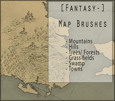Map Brushes by Morraey