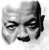 Portrait shading study by ProfessorPicasso