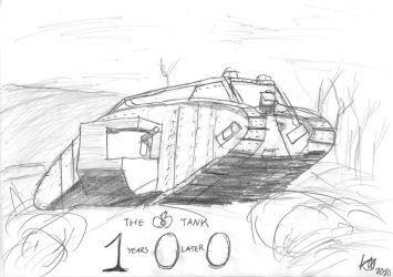 100 Years of the Tank by JMK-Prime