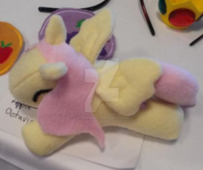 Fluttershy MLP plushie by StormyNight79