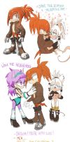 Sonic FC - SKETCHDUMP #2 by WitchyNade
