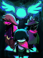 deltarune by fluffySlipper