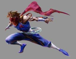 Marvel VS Capcom 2: Strider by UdonCrew