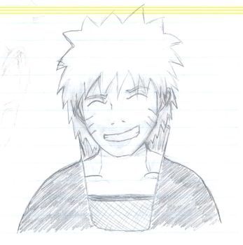 Naruto Sketch 2 by Nioki-chan