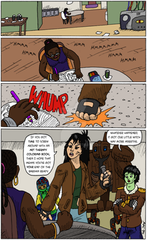 Black Science pg 22 by kyrtuck