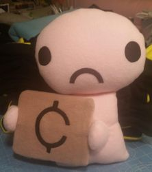 Binding of Isaac Beggar Plush by HatcoreHats