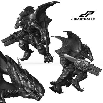 zHEARTEATER alternate views by dopepope