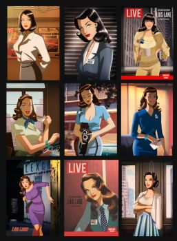Lois Lane By Des Taylor by DESPOP