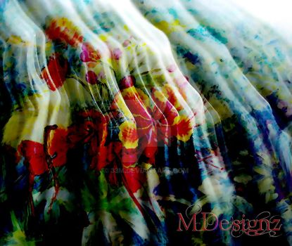 Vibrant Fabric_ Colors Of Spring by 33M