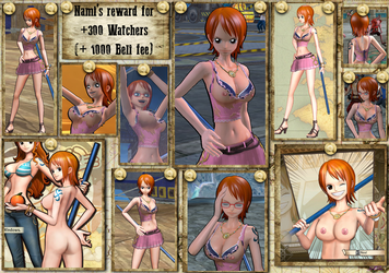 Mod-OPPW3-Nami PTS ripped nude by CraftedLightning