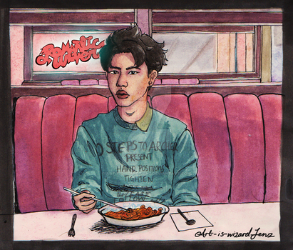 Kyungsoo ~Romantic Universe~ by Art-is-WiZaRd-Jenz