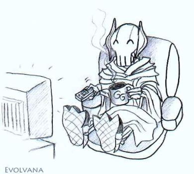Grievous at home by Evolvana