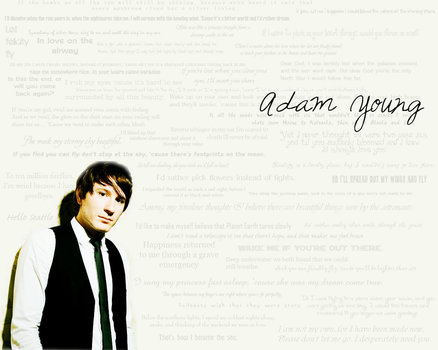 Adam Young Wallpaper by MistressoftheStars