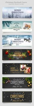 7 Facebook Christmas Covers by imagearea