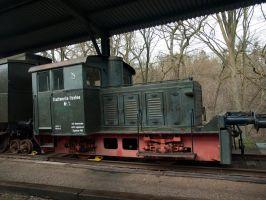 STOCK Old Locomotive 03 by Inilein